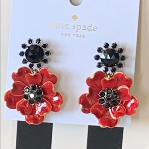Kate Spade! Poppies Earrings